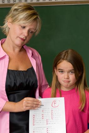 Smart Child Bad Grades